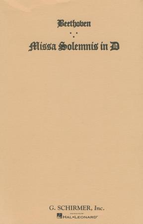 MISSA SOLEMNIS IN D