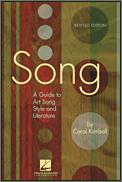 Song (A Guide To Art Song & Lit) Rev Ed