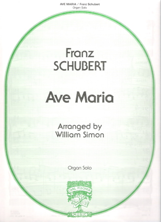 AVE MARIA FOR ORGAN SOLO