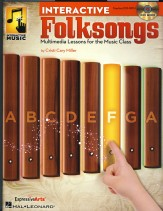 Interactive Folksongs (Bk/Cd)