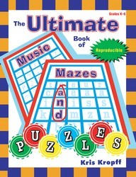 Ultimate Book of Music Mazes and Puzzles