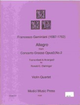 Allegro From Concerto Grosso Op 3 #2