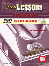 First Lessons Harmonica (Bk/CD/Dvd)
