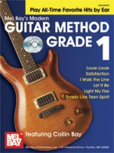 Modern Guitar Method Grade 1 (Bk/Cd)
