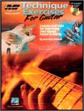 Technique Exercises For Guitar (Bk/Cd)