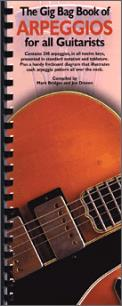 Gig Bag Book of Arpeggios For All Guitar