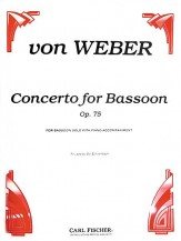 Concerto For Bassoon Op 75