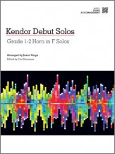 Various: Kendor Debut Solos - Horn in F - Piano Accompaniment