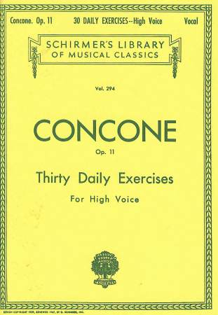 30 Daily Exercises Op 11