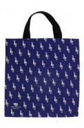 Tote: G-Clef Blue