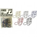 Music Klips Jumbo 16th Note Paper Clips