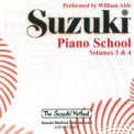 Suzuki Piano School 3 & 4 CD Aide