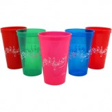 Plastic Cup: Assorted Colors