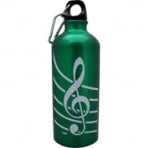 Green Aluminum Sports Bottle