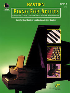 Piano For Adults Bk 1
