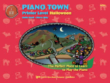 Piano Town Primer Lev Halloween