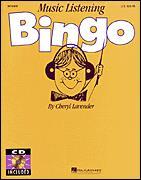MUSIC LISTENING BINGO (BOOK/CD)