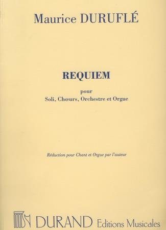 REQUIEM OP 9 (ORGAN/VOCAL SCORE)