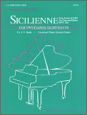 Sicilienne (From Sonata E-Flat Bwv1031