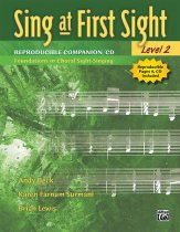 Sing At First Sight Lev 2 (Repro Comp/CD