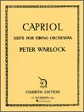 Capriol Suite For String Orch