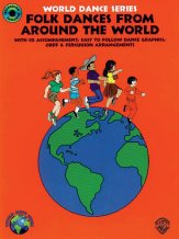 Folk Dances From Around The World (Bk/CD