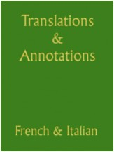 Translations & Annotations of Choral Rep