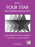 Four Star Sight Reading and Ear Tests 3