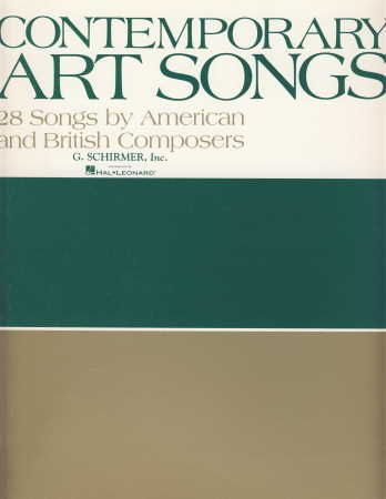 Contemporary Art Songs (28 By British