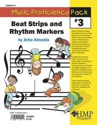 Music Proficiency Pack #3 Beat Strips An