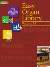 EASY ORGAN LIBRARY VOL 54
