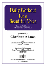 Daily Workout For A Beautiful Voice (Dvd