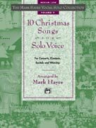 10 Christmas Songs For Solo Voice