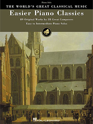 Easier piano classics sheet music by c p e bach sku for Piano house classics