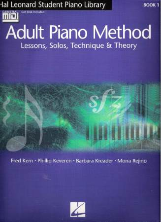 Adult Piano Method Bk 1 (Bk/Midi)