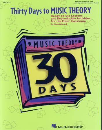THIRTY DAYS TO MUSIC THEORY