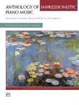 Anthology of Impressionistic Piano Music