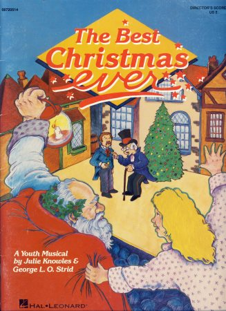 The best christmas ever sheet music by knowles strid sku for The best house music ever