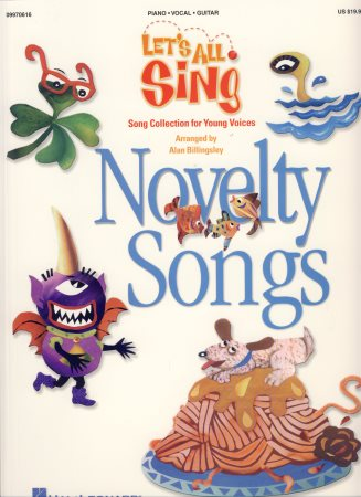 Let's All Sing Novelty Songs