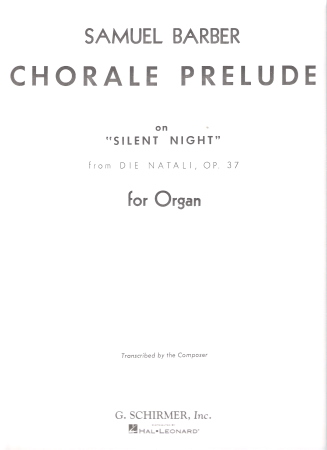 CHORALE PRELUDE ON SILENT NIGHT FROM DIE