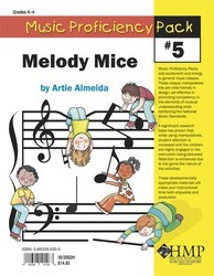 Music Proficiency Pack #5 Melody Mice