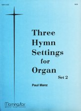 Three Hymn Settings For Organ Set 2