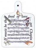Chopping Board: If Music Be The Food Of