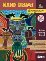 Hand Drums For Beginners (Bk/Cd)