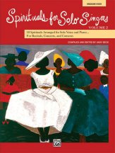 Spirituals For Solo Singers Vol 2 (Mh)