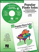 Popular Piano Solos Bk 4 (Cd)