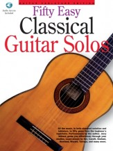 Fifty Easy Classical Guitar Solos Bk/CD