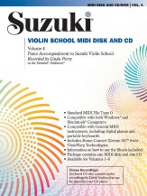 Suzuki Violin 4 Midi CD Rom