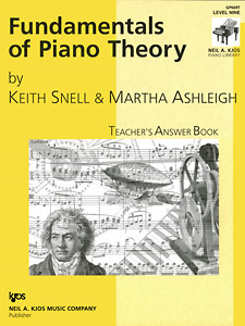 Fundamentals of Piano Theory Lev 9 Answe
