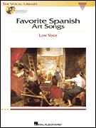 FAVORITE SPANISH ART SONGS (BK/CD)